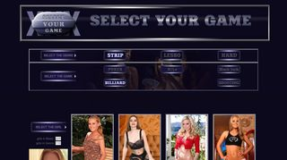 Select Your Game