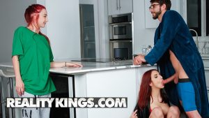 Reality Kings MILF redhead April takes on a big dick